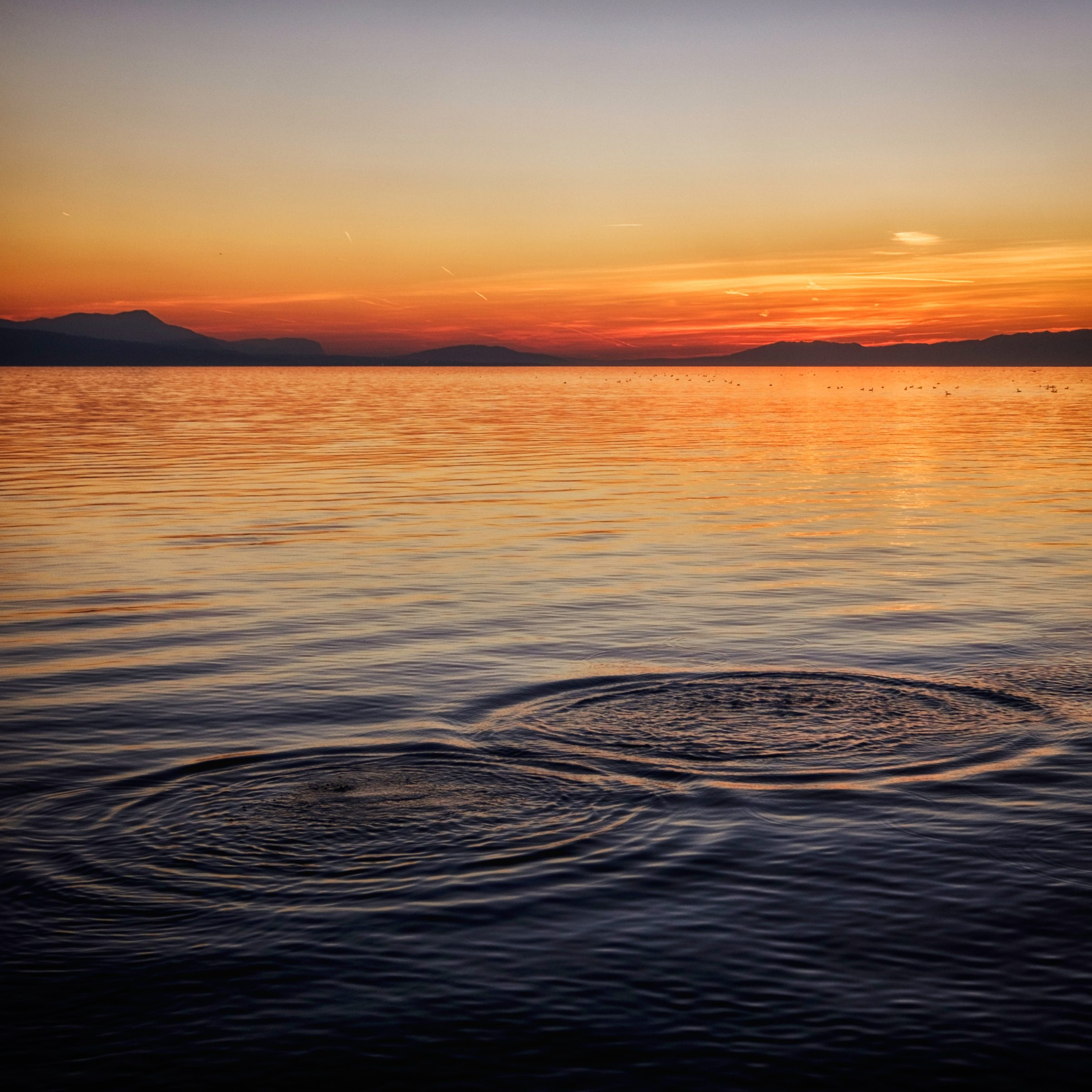 ClearLight Meditation Institute Ripples-in-Ocean-at-Sunset Home